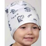 Демисезонные шапочки для мальчика на весну - осень