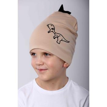Детская тонкая шапочка на весну для мальчиков 1-2-3 лет