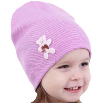 Весенняя тонкая шапочка 46-48 и 48-50 см обхват для девочек