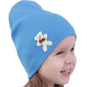 Тонкая весенняя шапочка 46-48 и 48-50 см обхват на мальчика