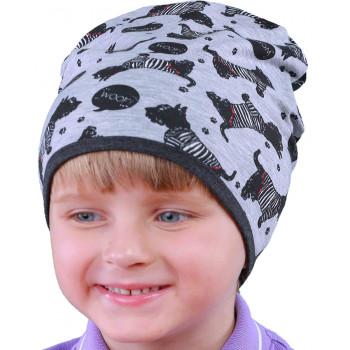 Детская 48-50 и 50-52 см обхват шапоча тонкая весенняя
