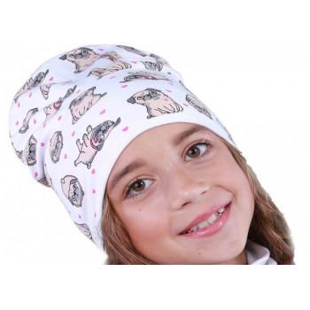 Детская 48-50 см обхват шапочка тонкая