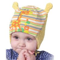 Детская шерстяная шапочка размеры от 1 до годика