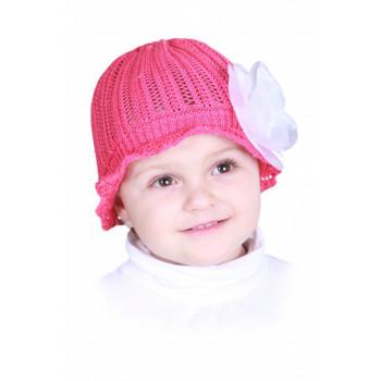 Красная шапочка Сеточка с цветком 54-56 см размер