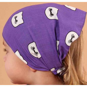 Косынка Диля Фиолетовая 46-48 размер для девочек