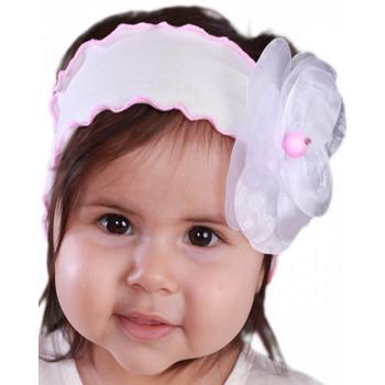 Повязка на голову для малышки, 38-40 и 42-44 см обхват головы