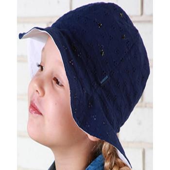 Панама Лолита Синяя Обхват 46 48 50 52 см для девочек