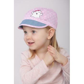 Кепка Розовая пудра Руби 46-48 и 48-50 см для девочек