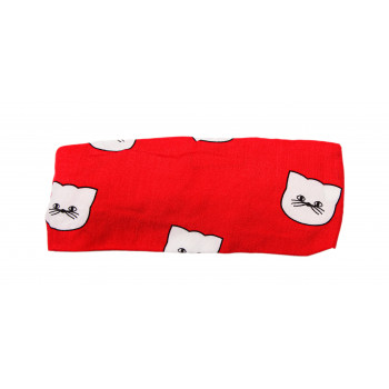 Повязка Красная 42-44 и 46-48 см обхват для девочек
