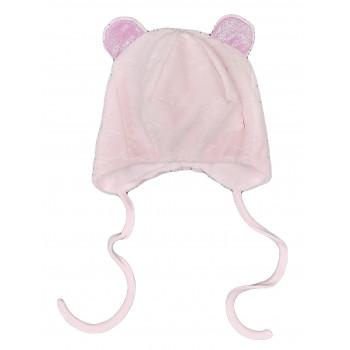 Демисезонная шапочка 40 42 44 46 см обхват для девочек