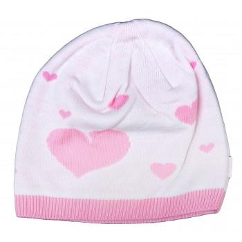 Тонкая весенняя шапочка 50-52 см обхват для девочек