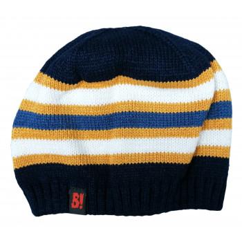 Тонкая весенняя шапочка вязанная 48-50 см обхват для мальчиков