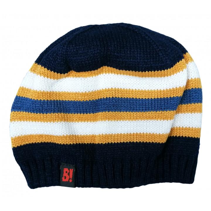 Тонка весняна шапочка в'язана 48-50 см обхват для хлопчиків