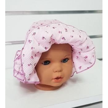 Летняя шляпка 48 см обхват для девочек Роза