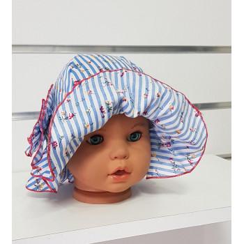 Летние шляпки 46 48 50 см обхват для девочек Роза