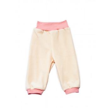 Велюровые оранжевые штаны 86 размера на ребенка 2 года