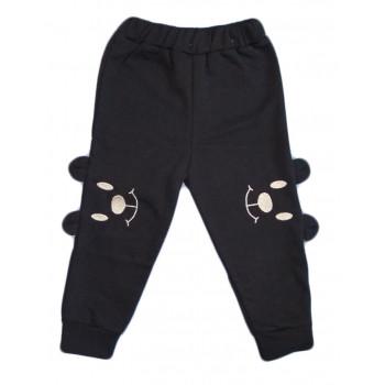 Детские штаны ТМ Малена Темно-синие Футер 98 размер