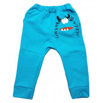 Детские теплые штаны 104 110 размеры для мальчика Монстрик