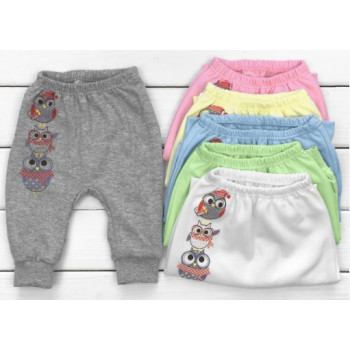 Детские теплые штаны Совушки Размеры 86