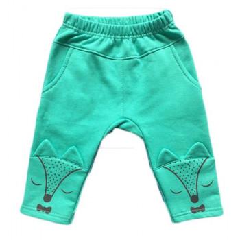 """Тепленькие штанишки """"Лисичка"""" 68 92 размера Ткань футер. Замеры в описании"""