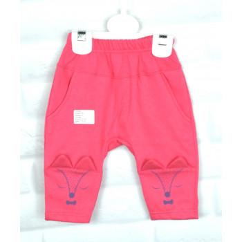 Теплые из футера штанишки 92 размеры для девочек