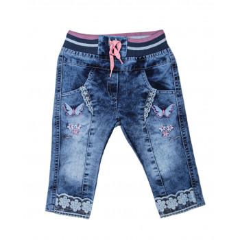 Тонкие джинсы на девочку 68 80 размер