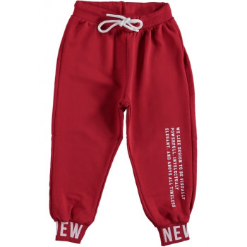 Спортивные штаны красные для мальчика 5 6 7 8 лет