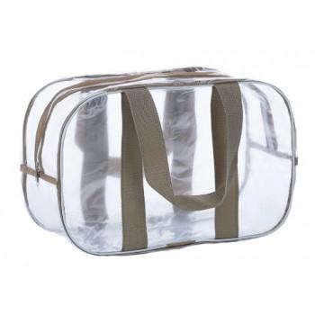 Прозрачная большая сумка 65*35*30 см для роддома